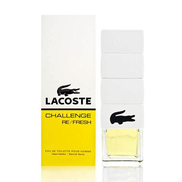 challenge refresh by lacoste 2 5 oz eau de toilette for men. Black Bedroom Furniture Sets. Home Design Ideas