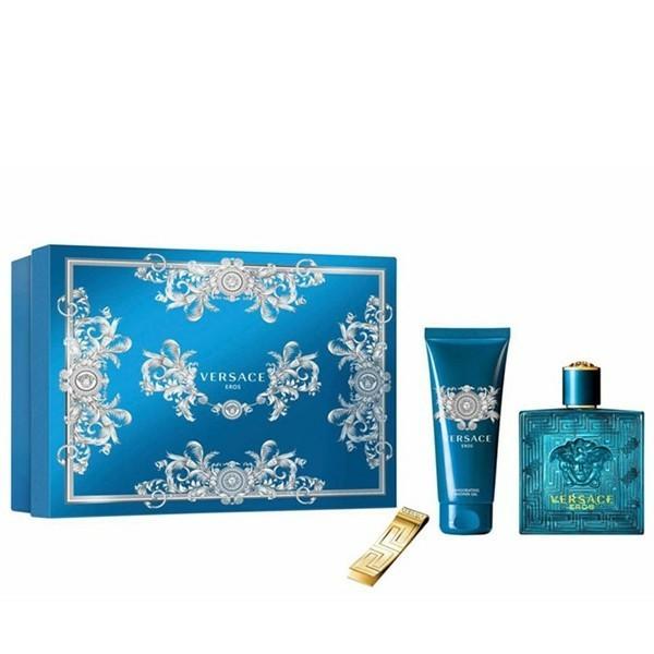 d62943e49960 3 Piece Gift Set  3.4 Oz Eau De Toilette Spray + 3.4 Oz Shower Gel + Money  Clip. For Men