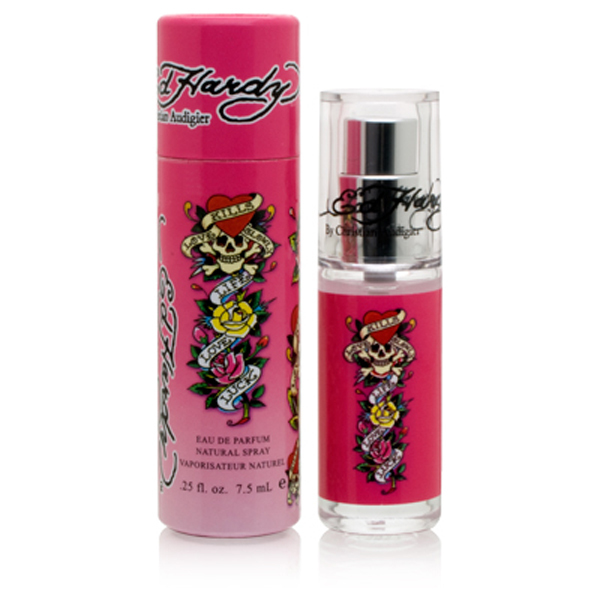 Ed Hardy Perfume: Ed Hardy By Christian Audigier, 0.25 Oz. Mini For Women