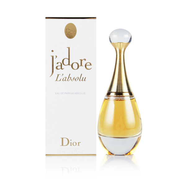 j 39 adore l 39 absolu by christian dior 2 5 oz eau de parfum for women. Black Bedroom Furniture Sets. Home Design Ideas