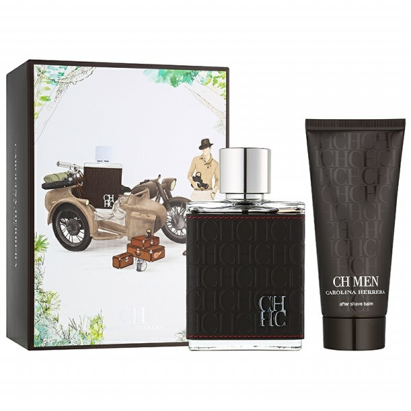 CH Men Gift Set by Carolina Herrera, 2 piece gift set: 3.4 ...