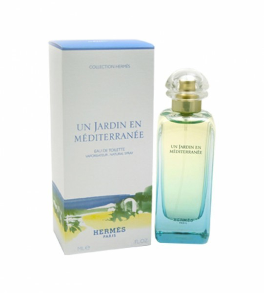 un jardin en mediterranee by hermes 3 3 oz eau de toilette for women. Black Bedroom Furniture Sets. Home Design Ideas